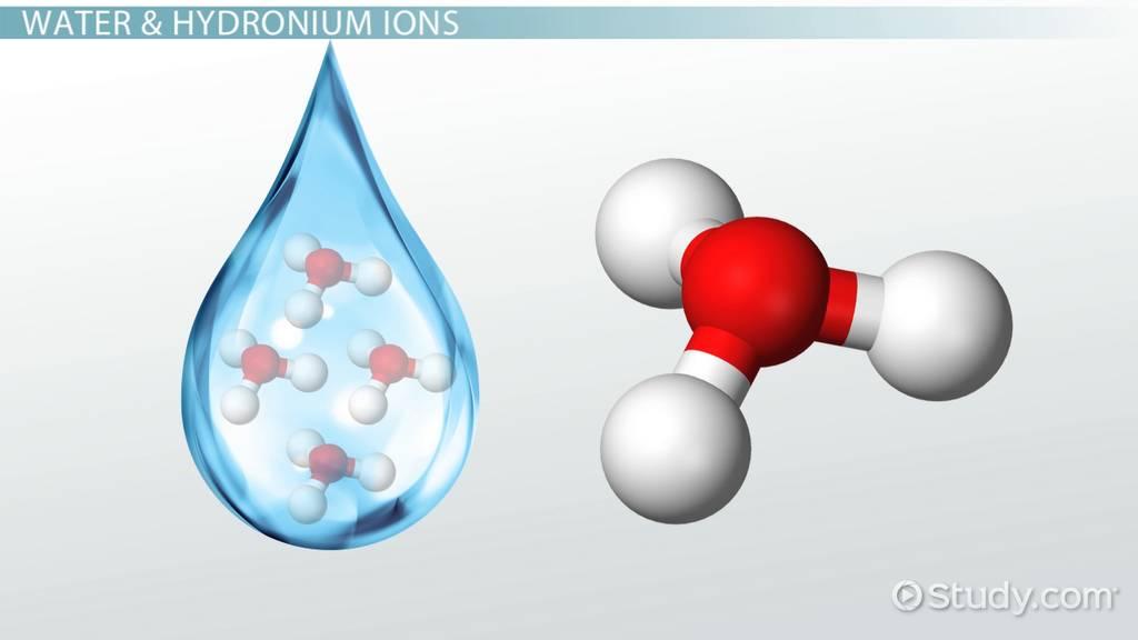 Hydronium Ion Definition Formula Video Lesson Transcript