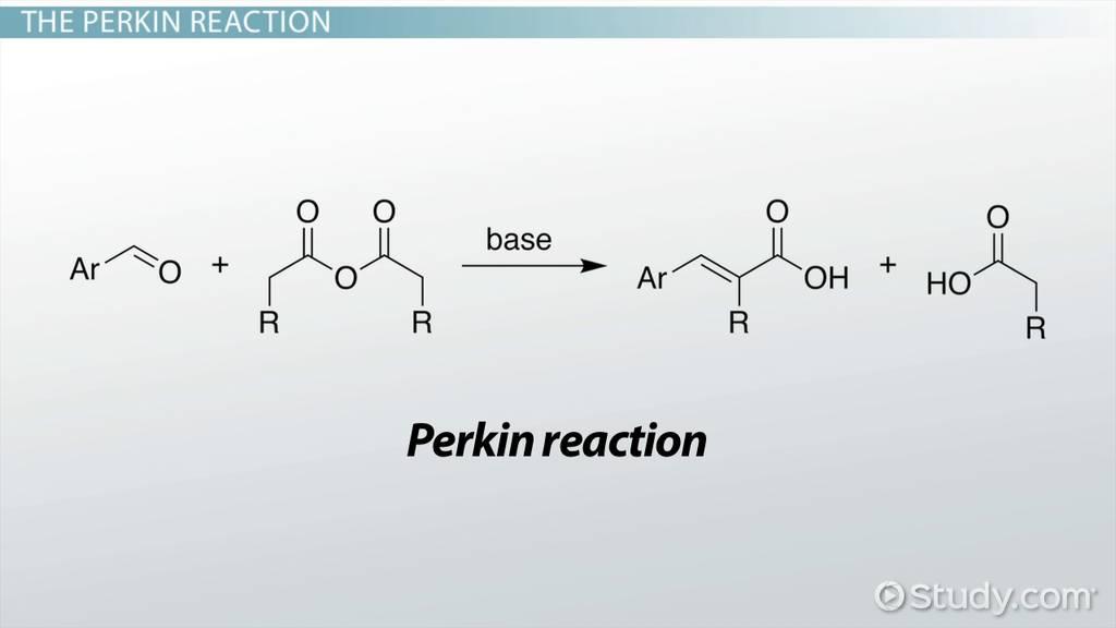 perkin reaction  definition  u0026 mechanism