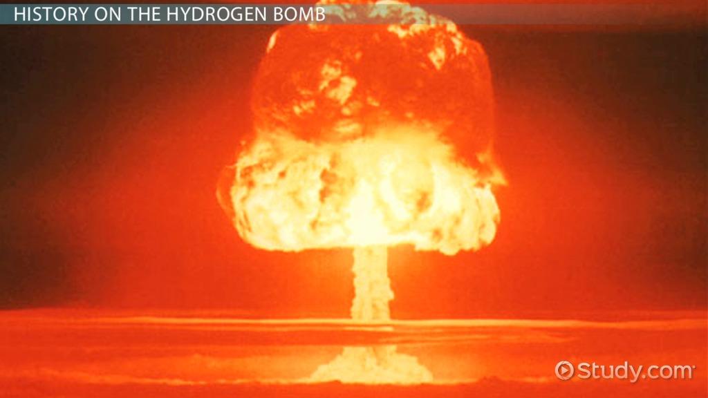 Exceptional The Hydrogen Bomb: Definition, Explosion U0026 Facts   Video U0026 Lesson  Transcript | Study.com