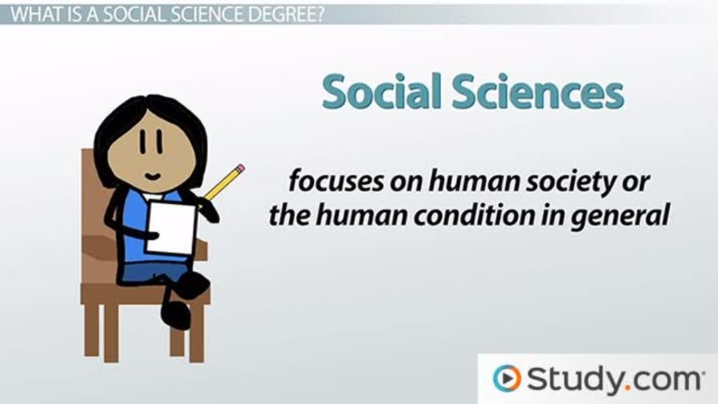 Careers In The Social Sciences: Typical Courses U0026 Degrees   Video U0026 Lesson  Transcript | Study.com