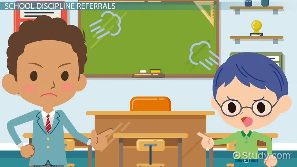 what is a school discipline referral