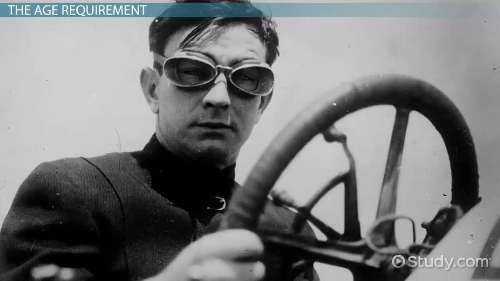 History of the Driving Age - Video & Lesson Transcript