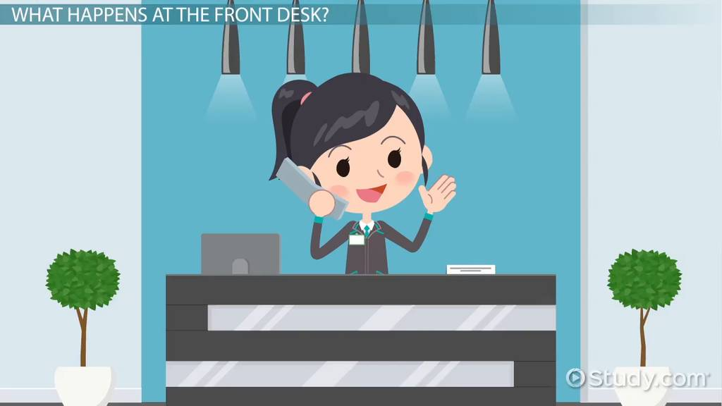 Hotel Front Desk: Operations & Responsibilities - Video & Lesson ...