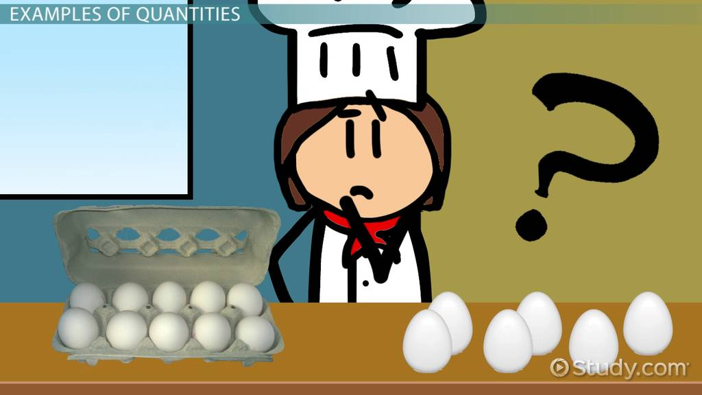 Schools Of Psychology >> What Does Quantity Mean in Math? - Video & Lesson ...