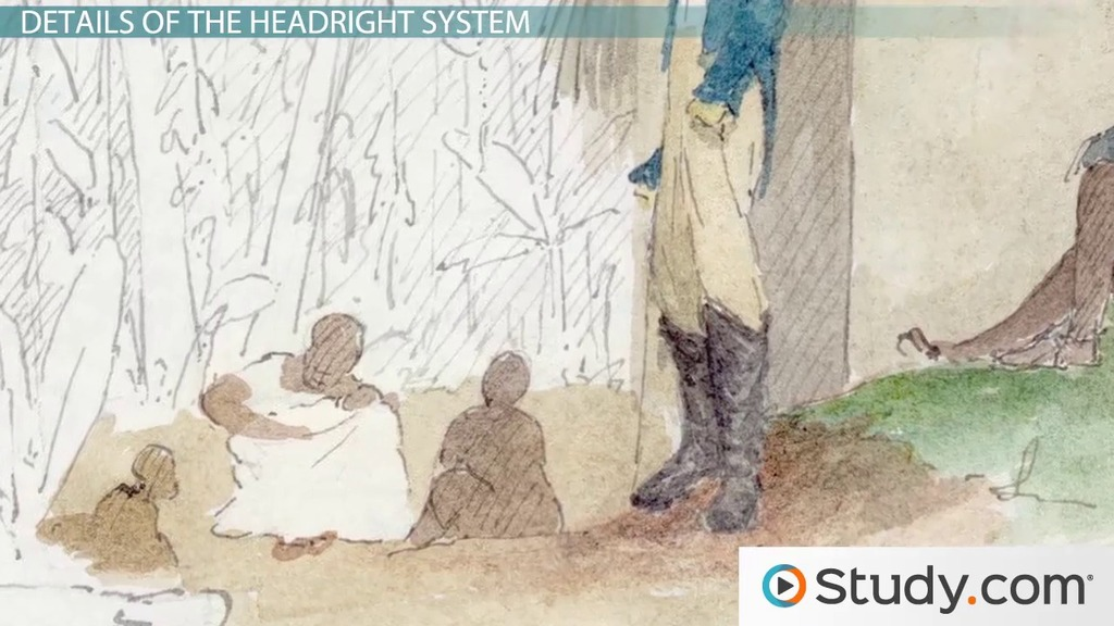 Headright System: Definition & History - Video & Lesson ...