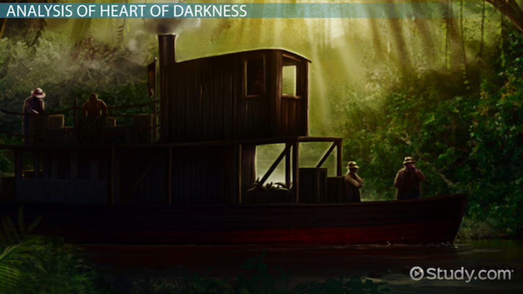 an analysis of symbolism in conrads book heart of darkness Free essay: the symbolism of darkness in heart of darkness darknesswhat does it mean in joseph conrad's novel, heart of darkness, the meaning of the word.