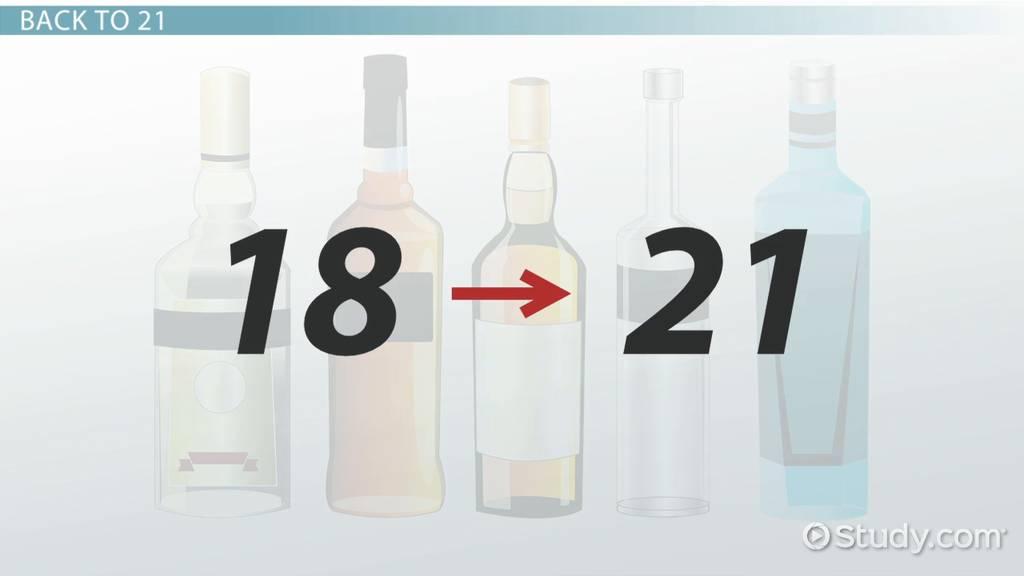 Lesson com Transcript Study Video History Drinking Age - amp; Michigan
