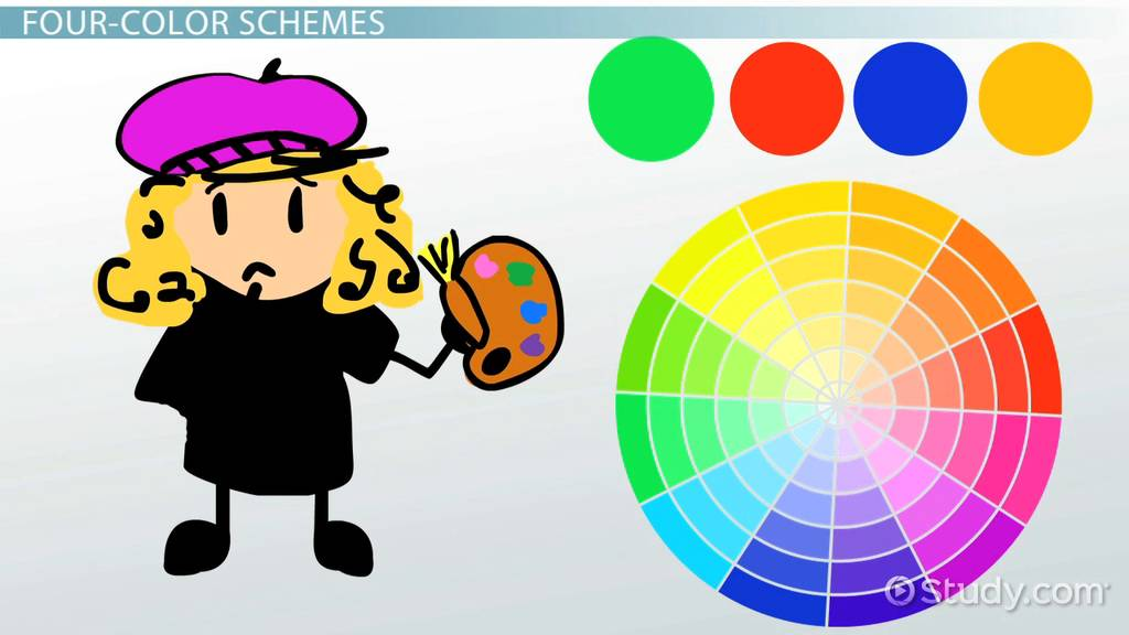 What Is A Color Scheme Definition Types Examples Video Lesson Transcript Study Com