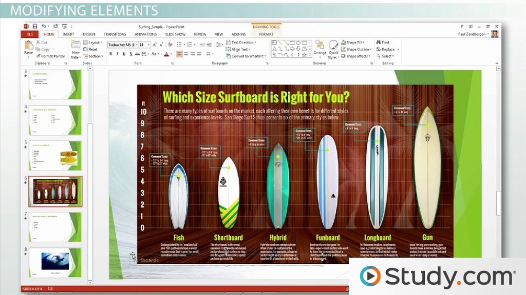 How to add and format slide numbers headers and footers in how to add and format slide numbers headers and footers in powerpoint video lesson transcript study toneelgroepblik Image collections