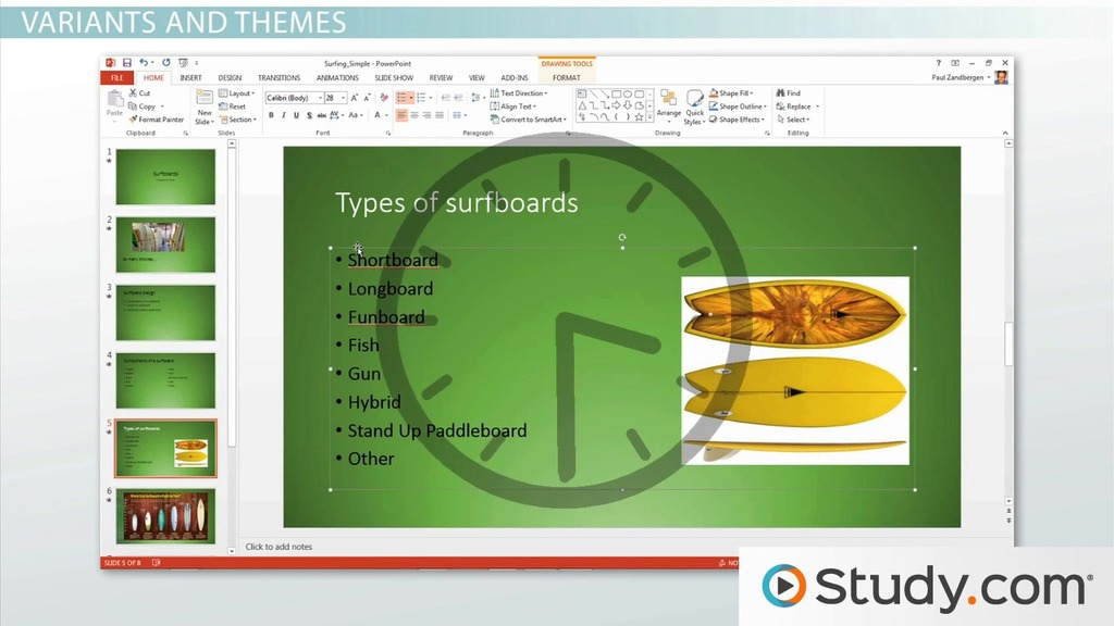 how to create a powerpoint presentation using a template - video, Presentation templates