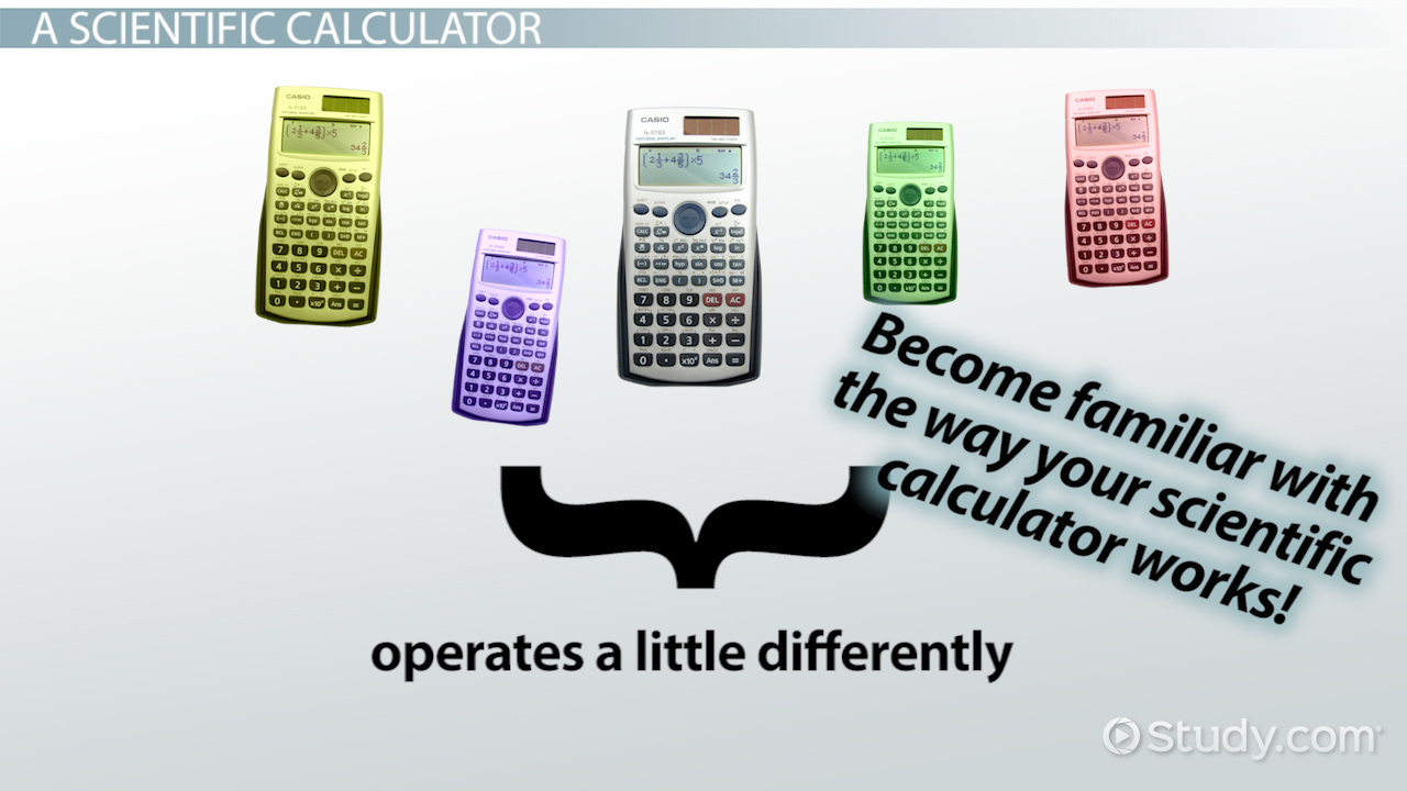 How to Solve Equations on a Calculator - Video & Lesson Transcript |  Study.com