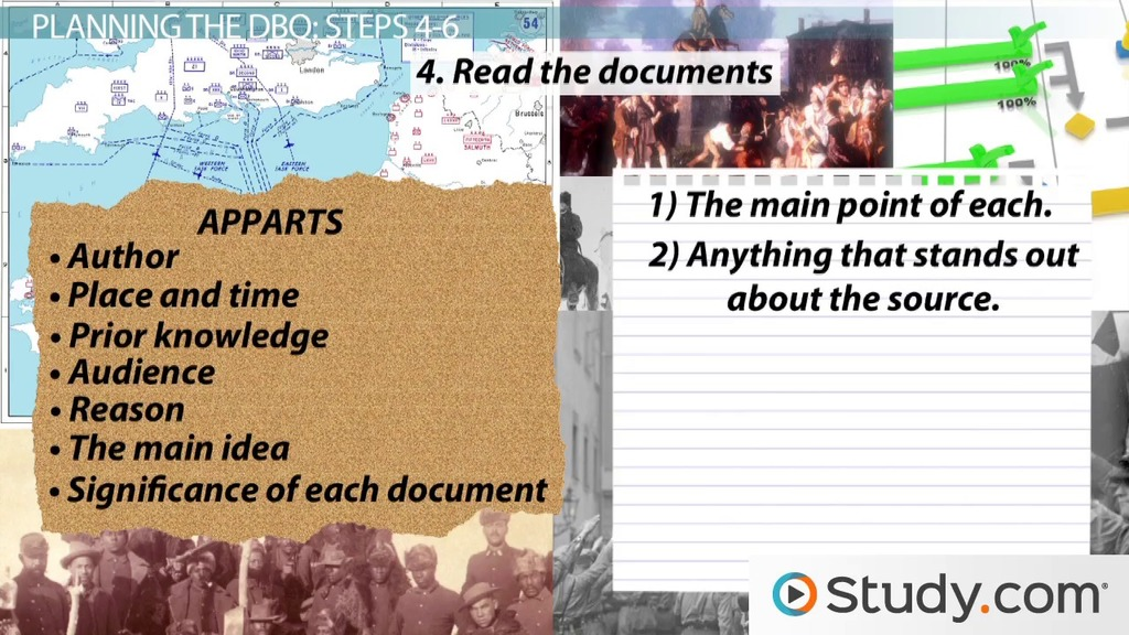 How To Master The Document Based Essay Question On The AP