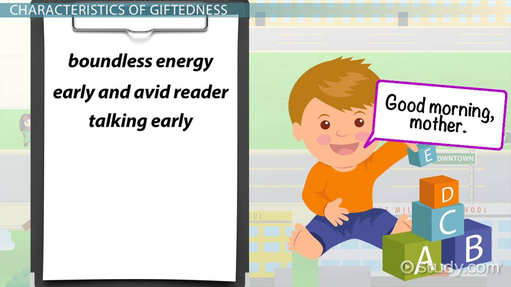 giftedness in children definition characteristics conceptions