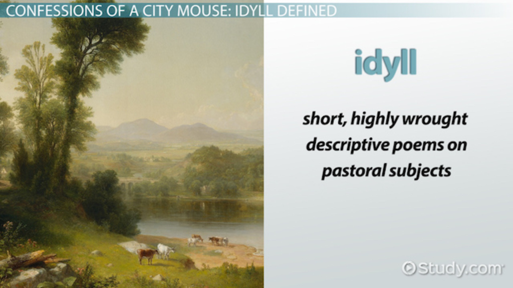 Idyll In Poetry Definition Amp Examples Video Amp Lesson