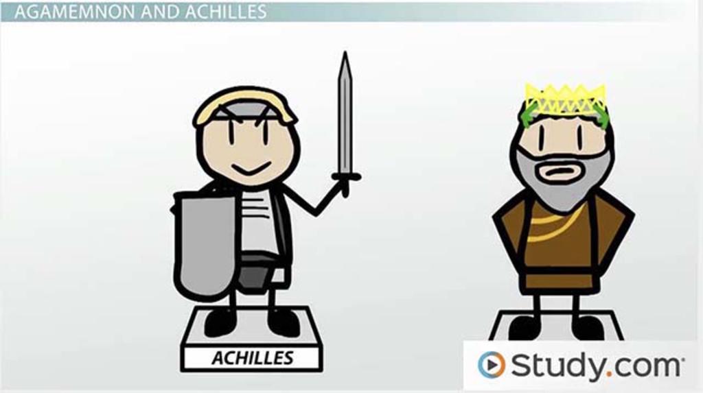 The Iliad Greek Epic Video Lesson Transcript Study