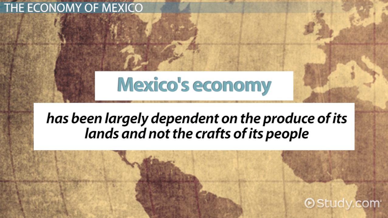 a study of the economy of mexico Mexico is an active and constructive member of the world trade organization, the g-20, and the organization for economic cooperation and development the mexican government and many businesses support a free trade area of the americas.
