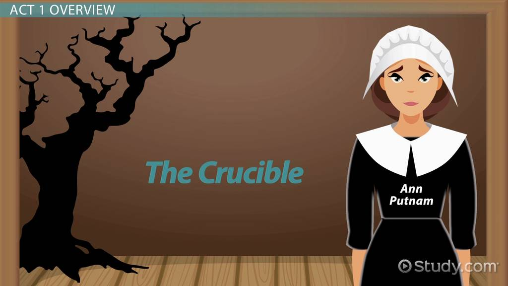 the crucible and mrs putnam Best answer: - mrs putnam - she accused rebecca nurse of being a witch she is jealous of rebecca nurse because her children is not dead ann putnam's babies died.