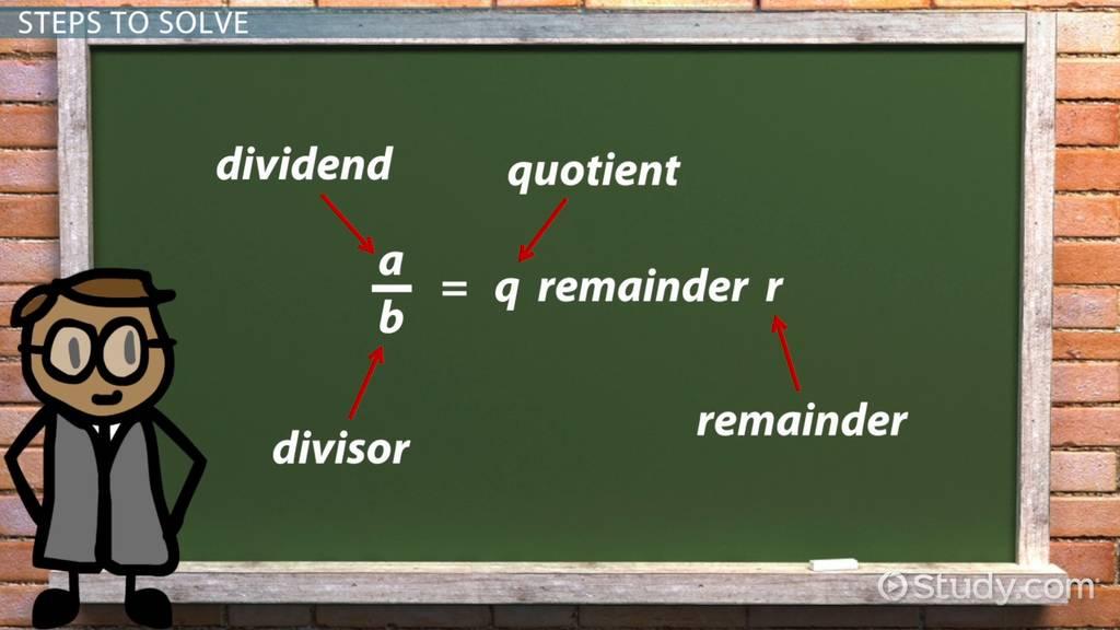 How to Calculate 10 mod 3 - Video & Lesson Transcript | Study com