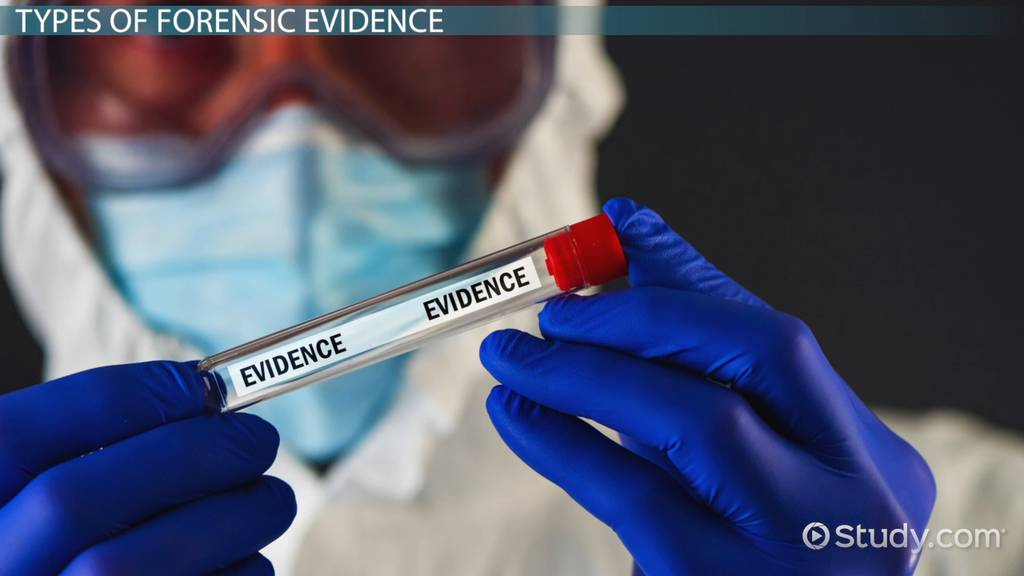 Forensic Evidence Types Definition Cases Video Lesson Transcript Study Com