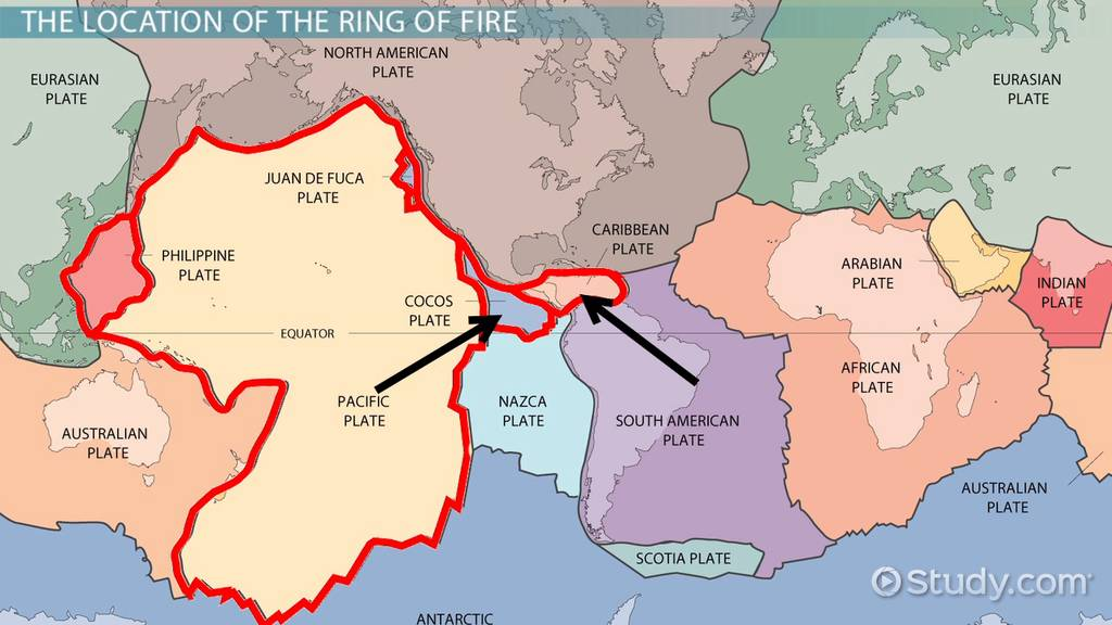 What Is the Ring of Fire? - Definition, Facts & Location - Video
