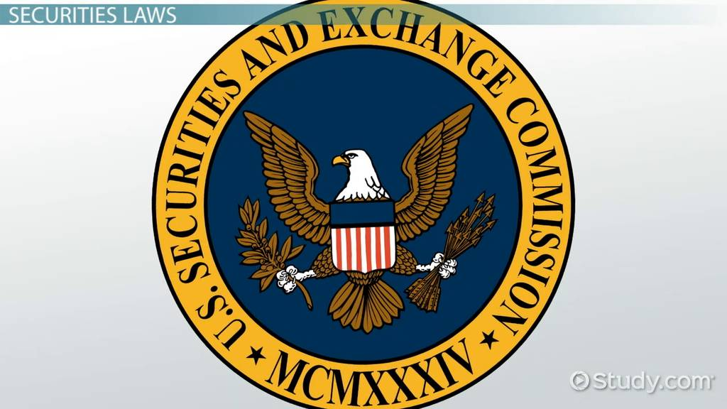 An interpretation of the us securities exchange act of 1934 in relations to insider trading