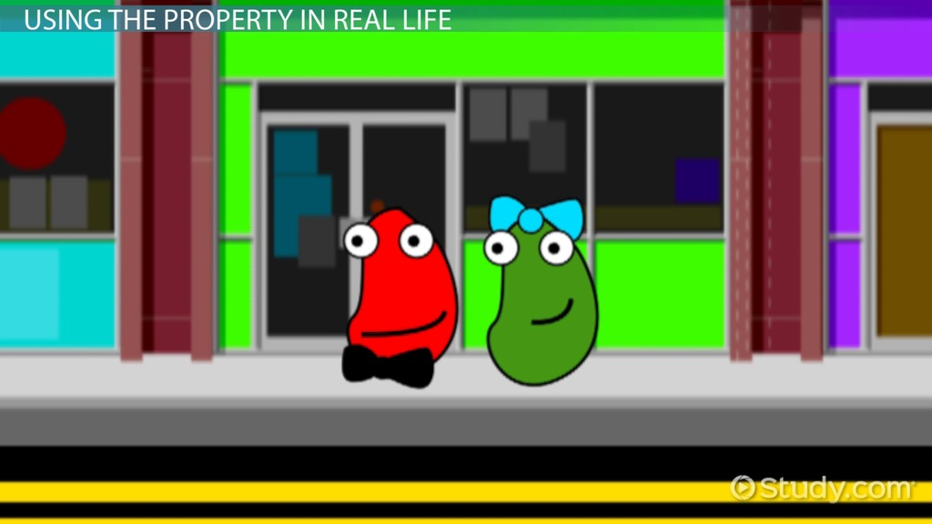 Commutative Property of Addition: Definition & Example - Video