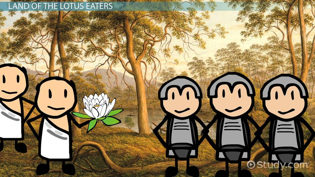 Land Of The Lotus Eaters In The Odyssey Video Lesson Transcript