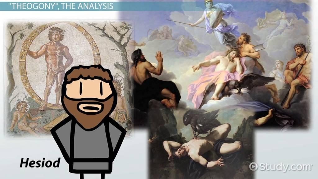 theogony by hesiod  summary  u0026 analysis