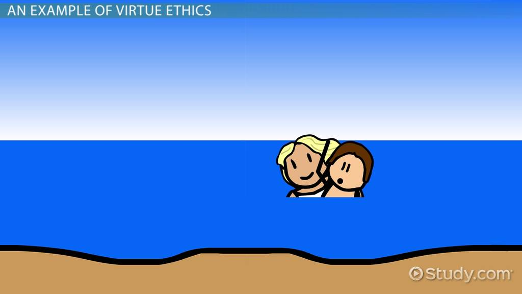 virtue ethics vs  deontological ethics