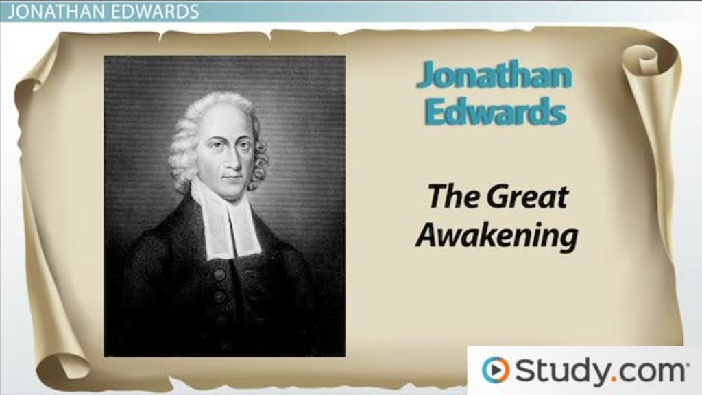 Jonathan Edwards and the Great Awakening: Sermons