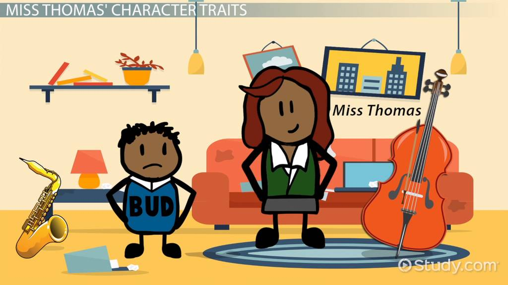 Bud Not Buddy Character Traits Video Lesson Transcript