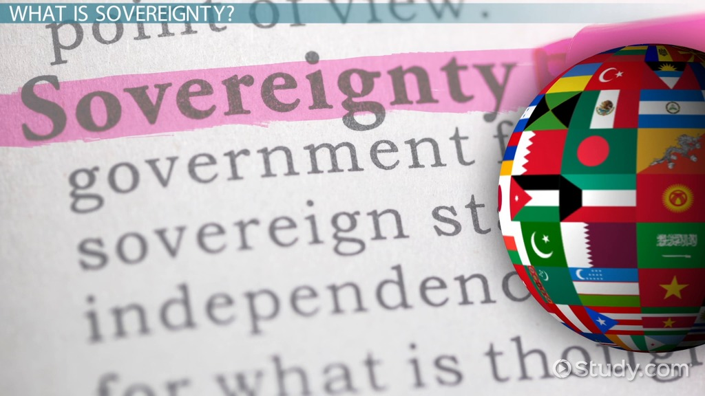 what is sovereignty  - definition  u0026 meaning