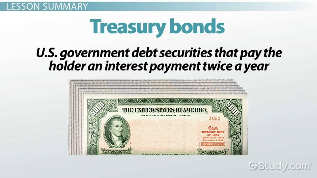 what are treasury bonds  - definition  u0026 rates
