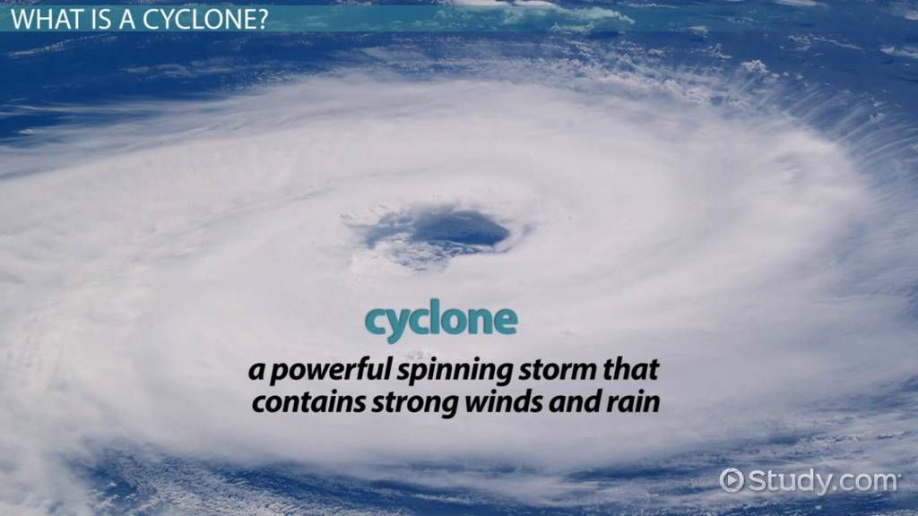 What Is A Cyclone Definition For Kids