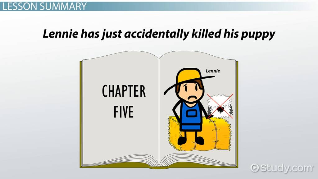 Of Mice And Men Chapter 5 Summary Quotes Video Lesson