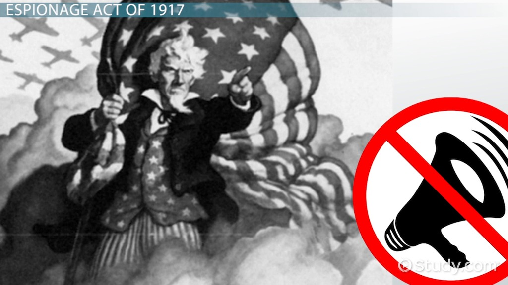 espionage and sedition act Free essay: espionage act of 1917 and sedition act (amendment) of 1918 on april 2nd 1917, president woodrow wilson of the united states of america, went.