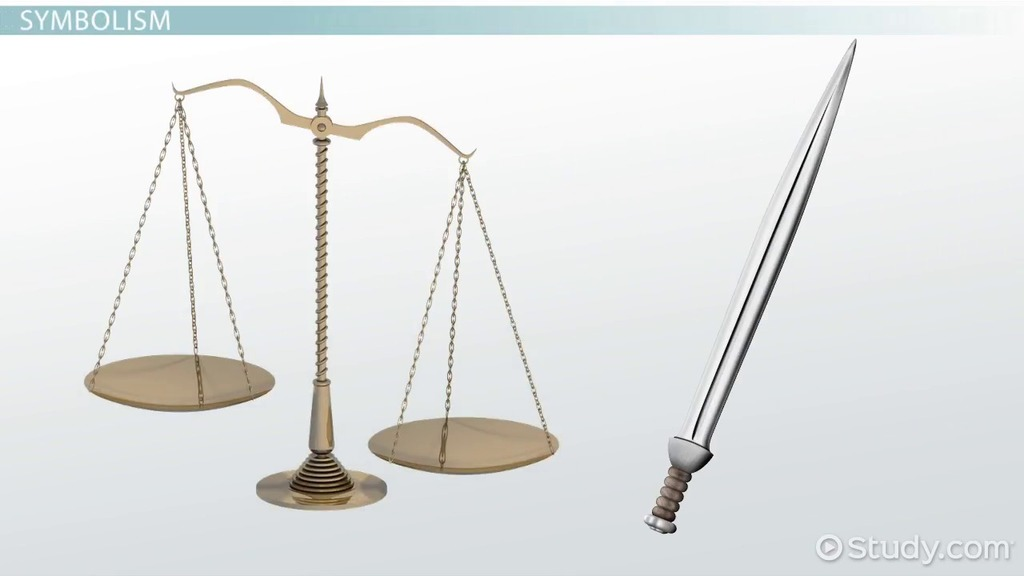Lady Justice Meaning Symbolism Video Lesson Transcript