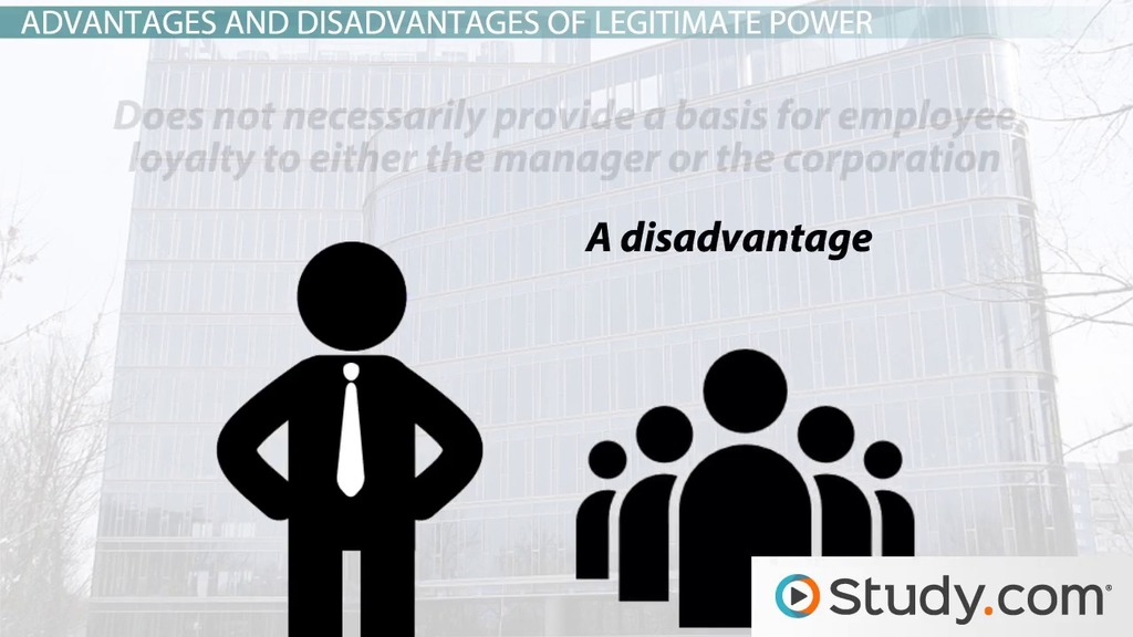 Legitimate Power In Leadership Definition Example Video