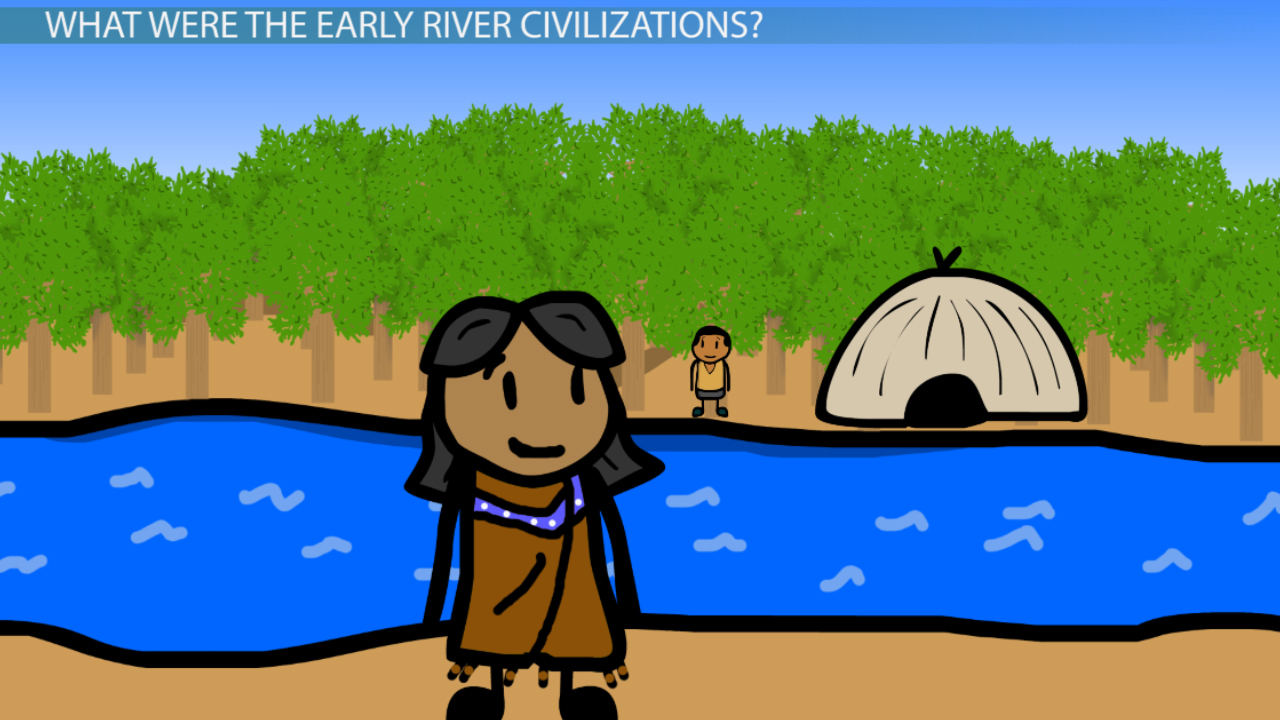 Locations Of The Early River Civilizations Video
