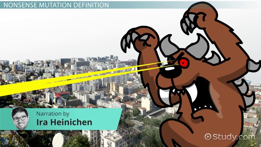 nonsense mutation  definition  u0026 example