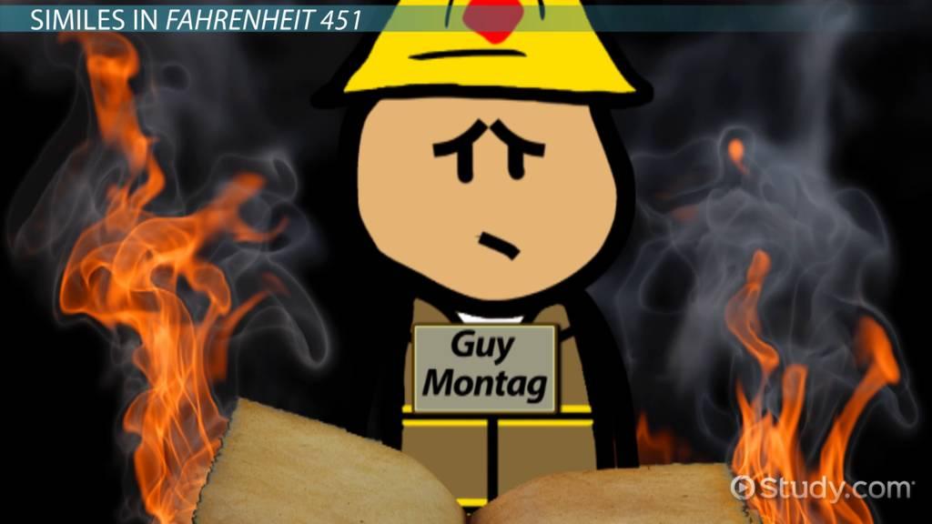 Metaphors In Fahrenheit 451 Examples Analysis Video Lesson