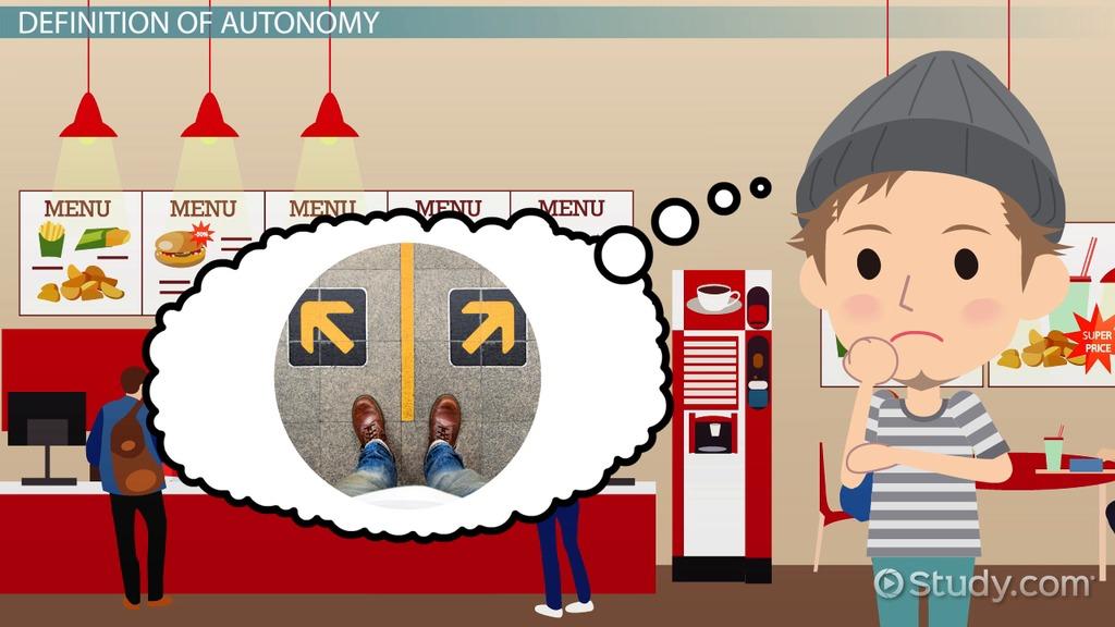 What is Autonomy? - Definition & Ethics - Video & Lesson Transcript |  Study.com