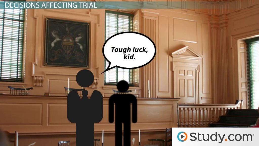 Major Us Supreme Court Decisions Impacting The Juvenile Justice