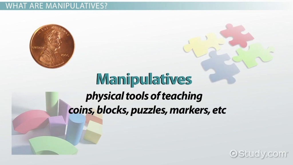 Virtual Classroom Architecture Design ~ Manipulatives in education definition examples