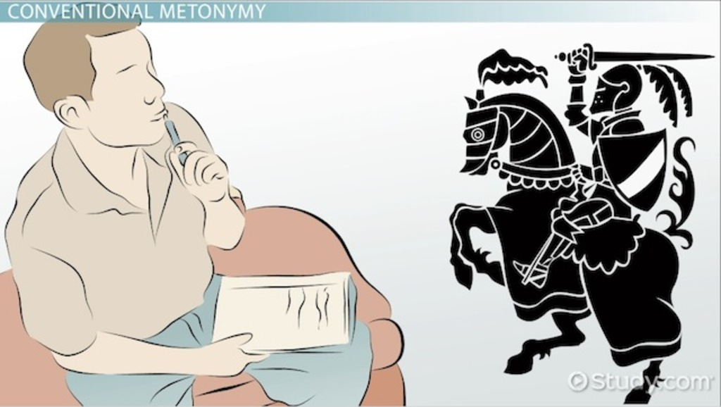 Metonymy in Literature: Definition, Types & Examples - Video & Lesson Transcript | Study.com