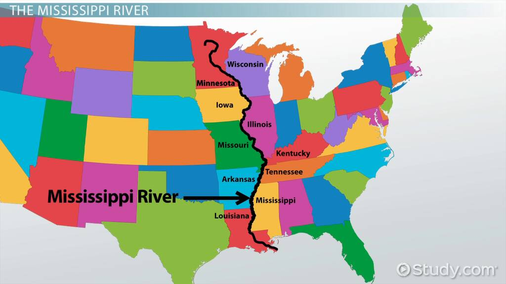 Picture of: Mississippi River Facts Lesson For Kids Video Lesson Transcript Study Com