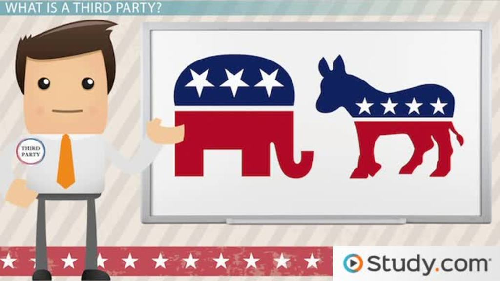 Minor (Third) Parties: Definition, Role & Examples - Video & Lesson ...