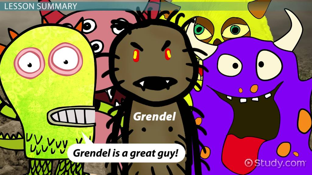 Beowulf Quotes About Grendel Examples Analysis Video Lesson