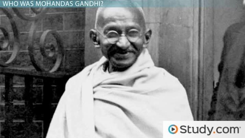 mohandas gandhi and the british invasion video lesson  mohandas gandhi beliefs accomplishments assassination