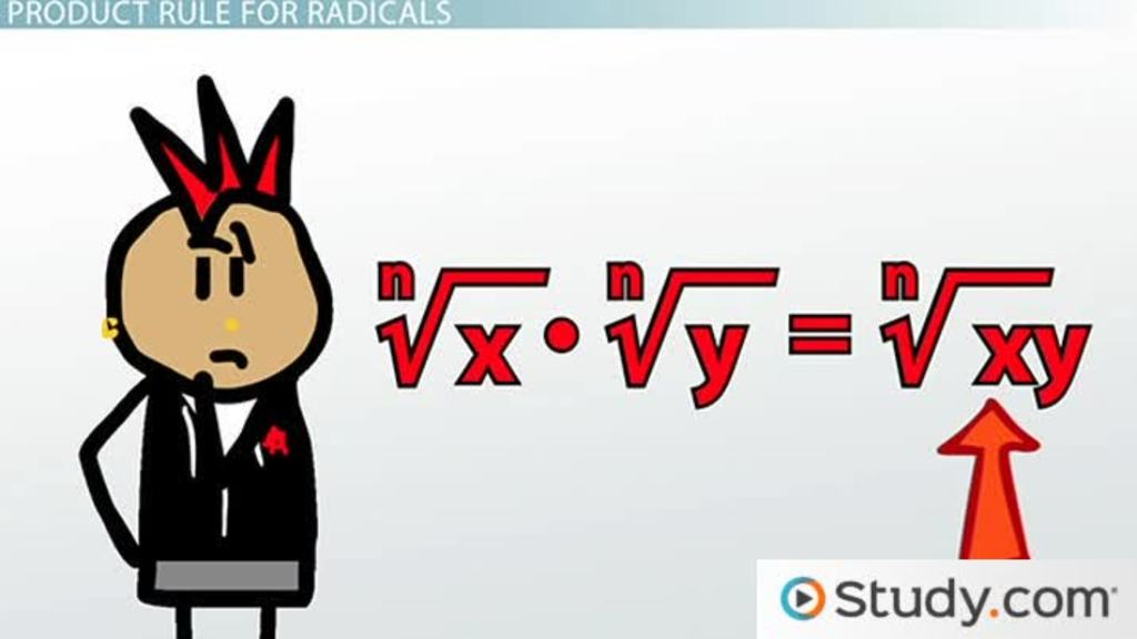 Multiplying then Simplifying Radical Expressions Video Lesson – Simplest Radical Form Worksheet